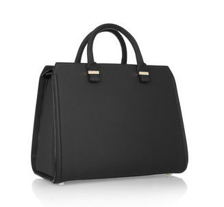 The Victoria leather tote